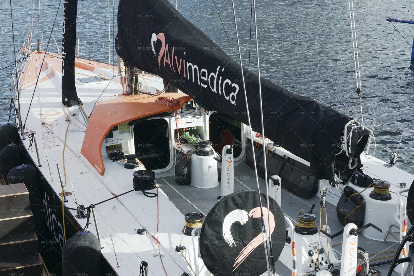 Alvimedica Boat: Stock Photos