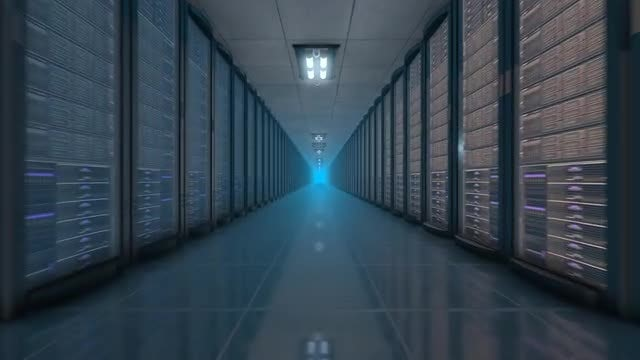 Server Room: Stock Motion Graphics
