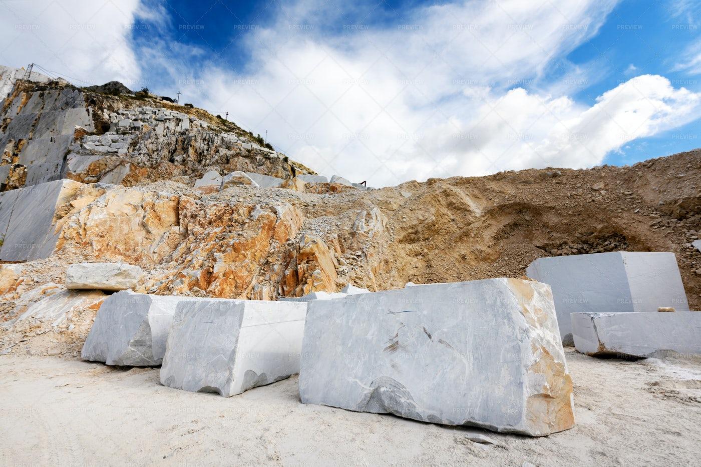 Blocks Of Marble: Stock Photos
