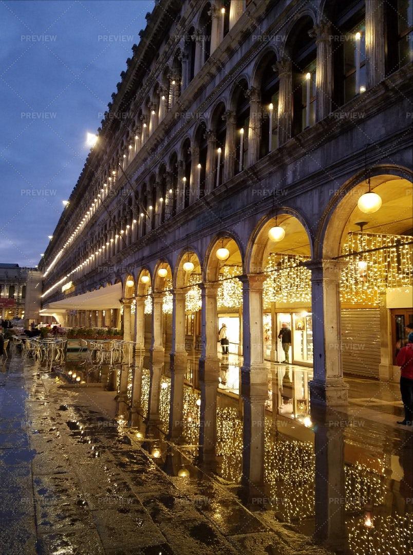 Venice San Marco Plaza: Stock Photos