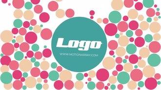 Colorful Balls Logo: Premiere Pro Templates