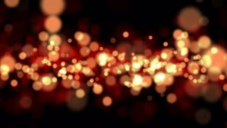 Gold and Orange Bokeh Background: Motion Graphics