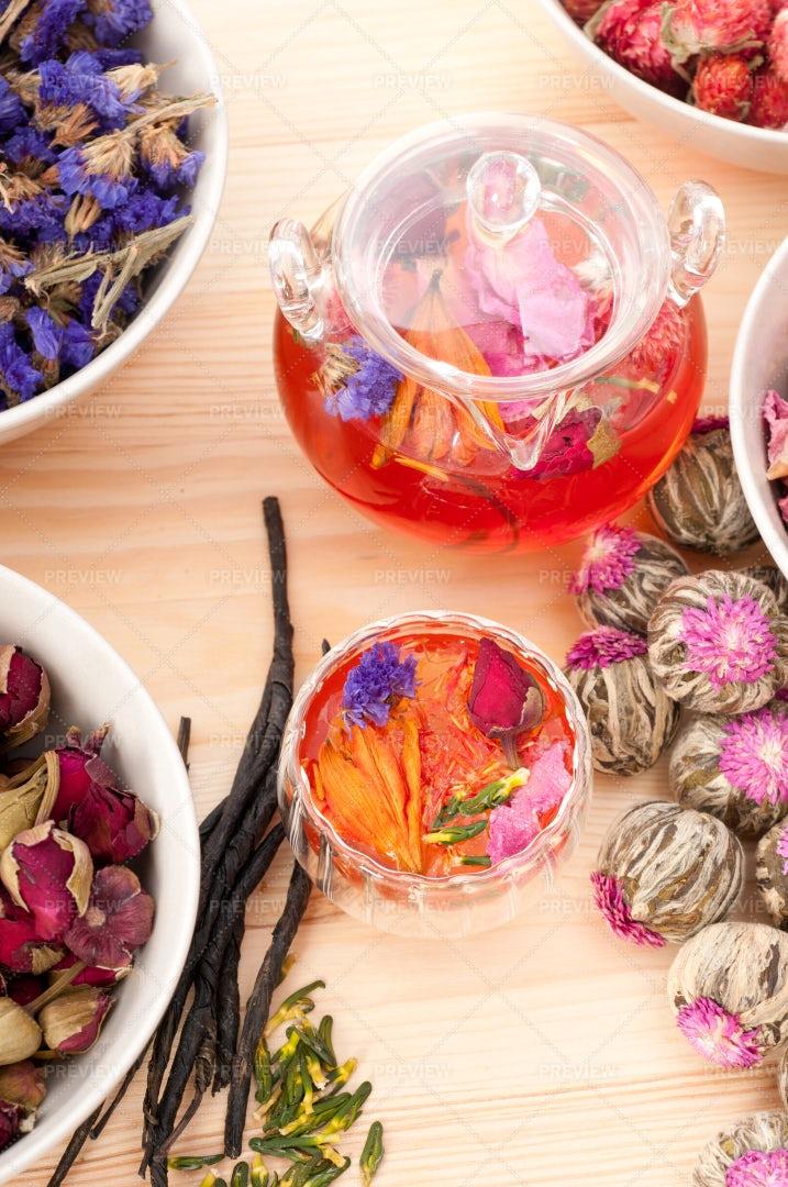 Herbal  Tea: Stock Photos