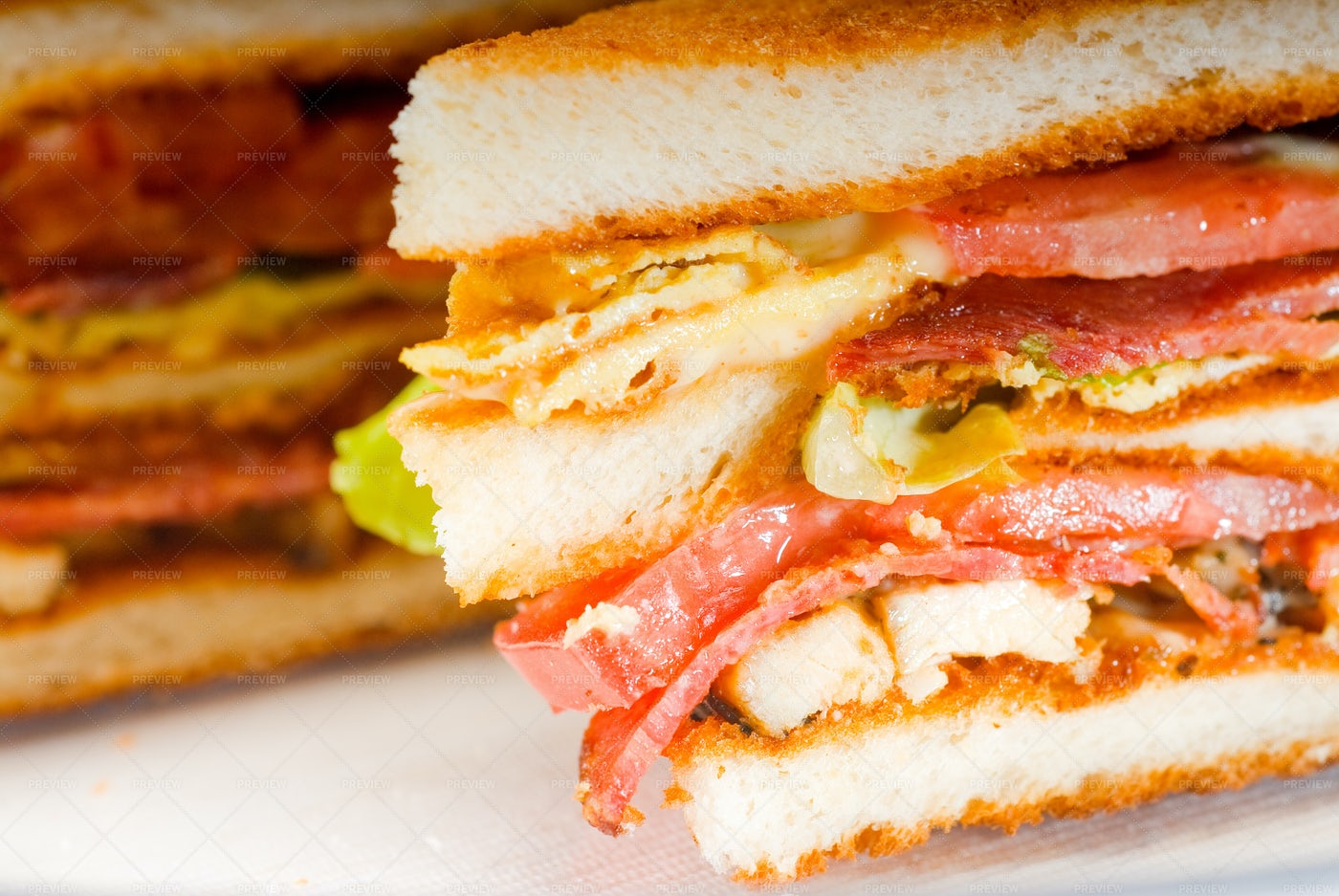Club Sandwich: Stock Photos
