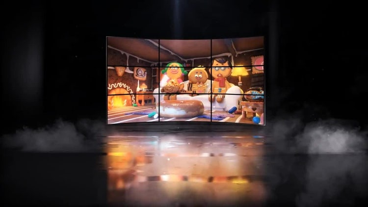 Glitch Led Opener: After Effects Templates