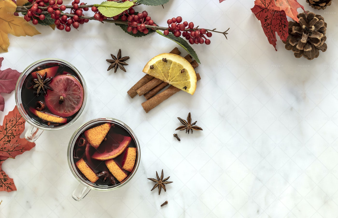 Mulled Wine: Stock Photos