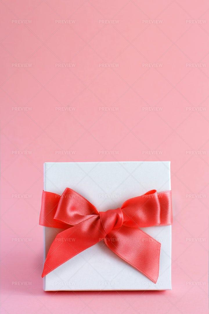 White Gift Box: Stock Photos