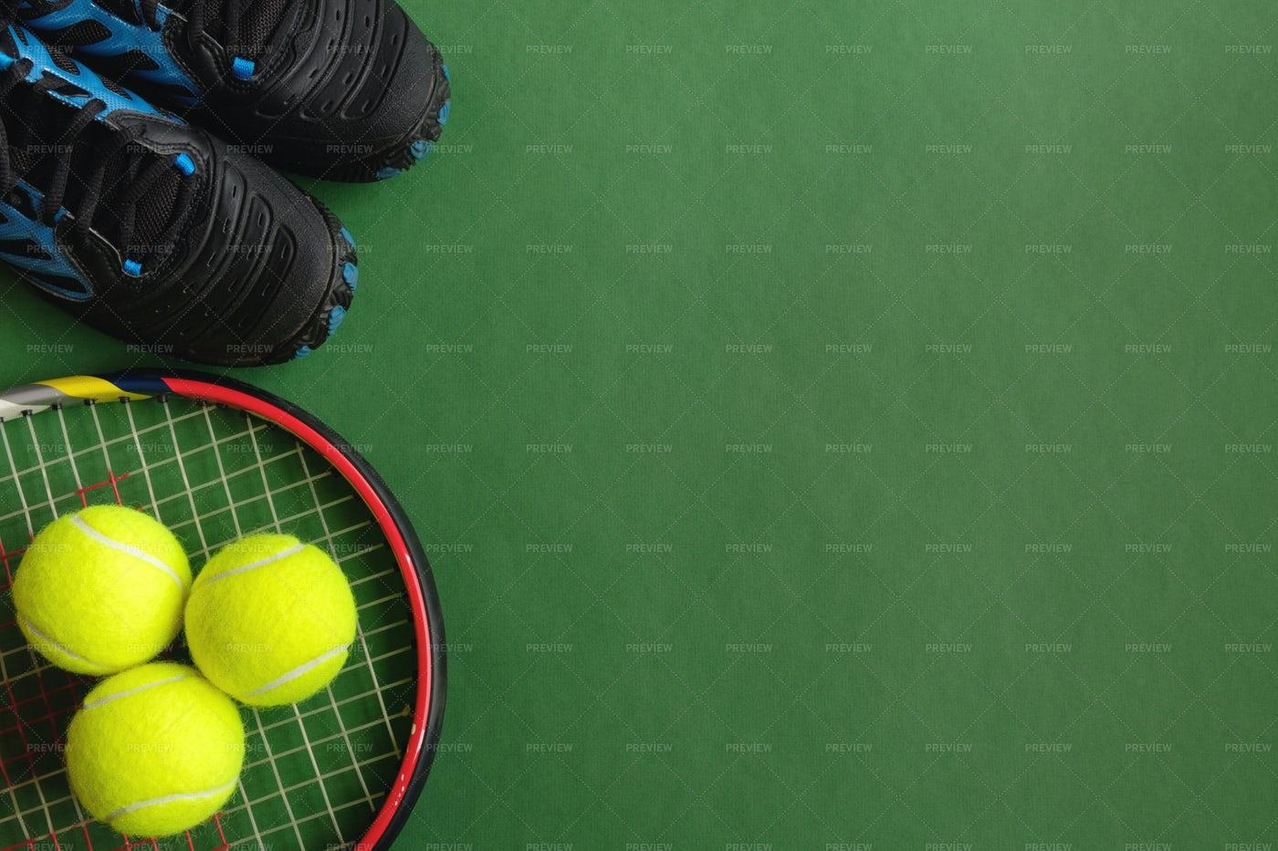 Tennis Items: Stock Photos