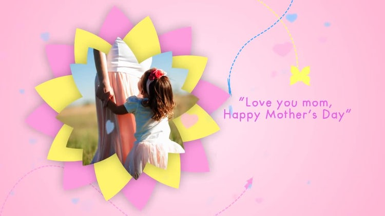 Mother's Day Love: After Effects Templates