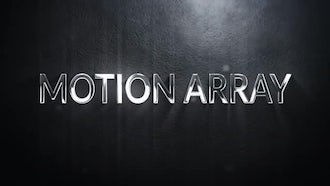 Metal 3D Titles: Motion Graphics Templates