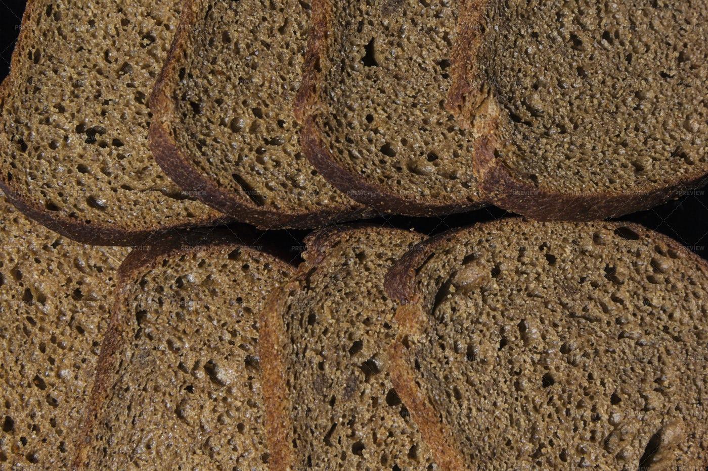 Rye Bread Slices: Stock Photos