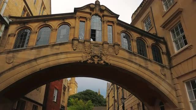 The Bridge Of Sighs, UK: Stock Video