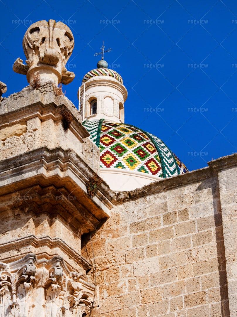 Cathedral Basilica Of Oria: Stock Photos