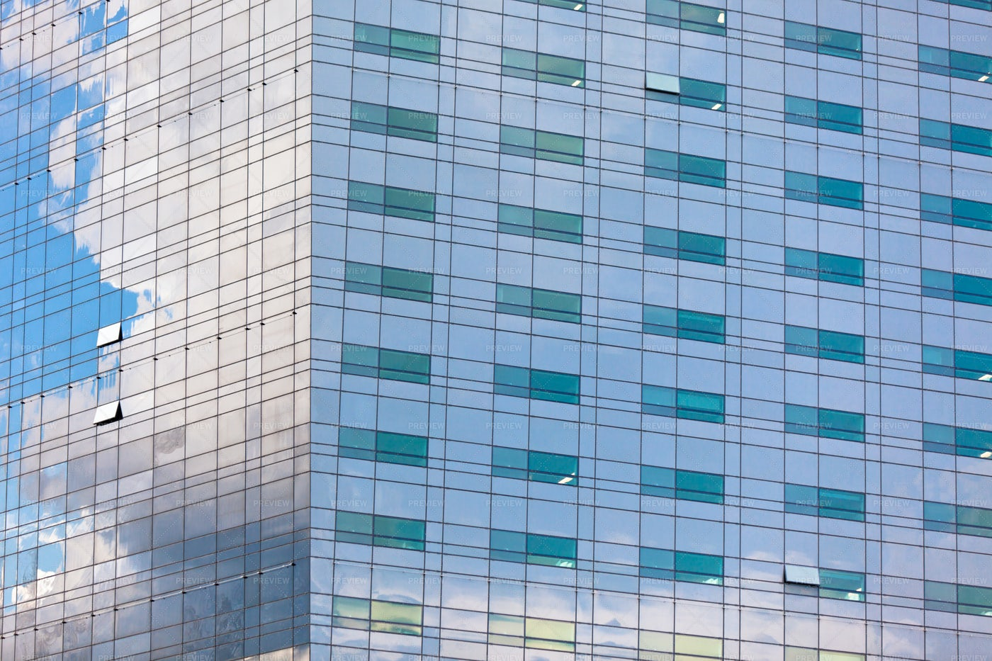 Reflections In Glass Building: Stock Photos