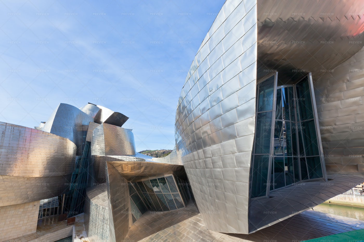 Guggenheim Museum: Stock Photos