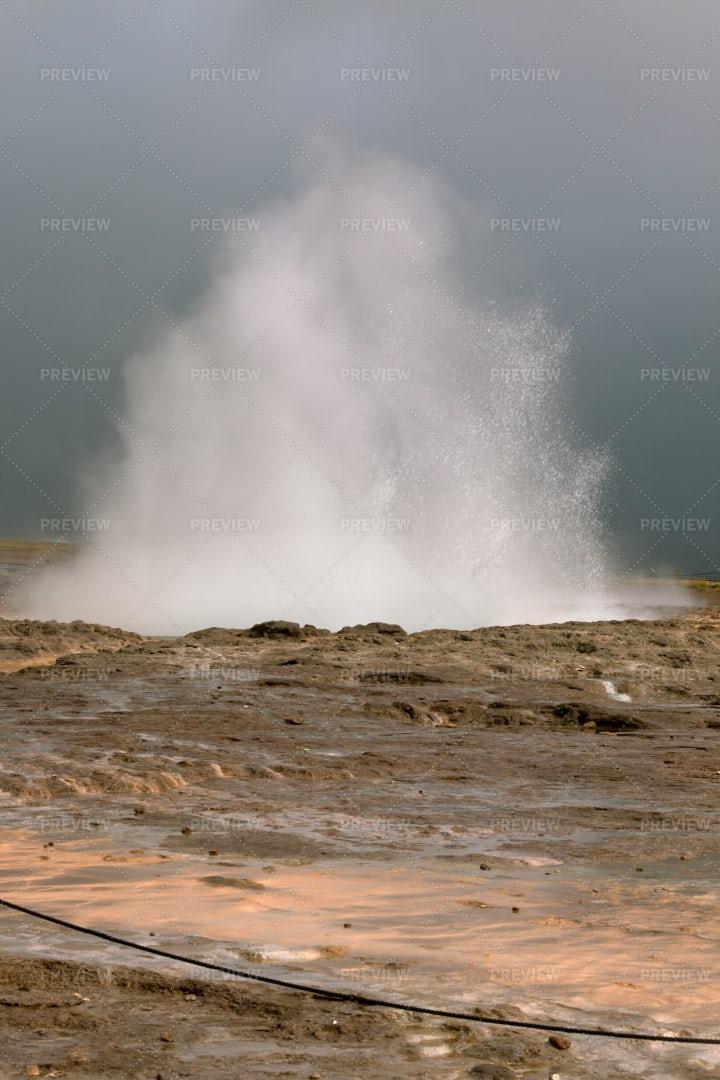 Geyser Eruption: Stock Photos