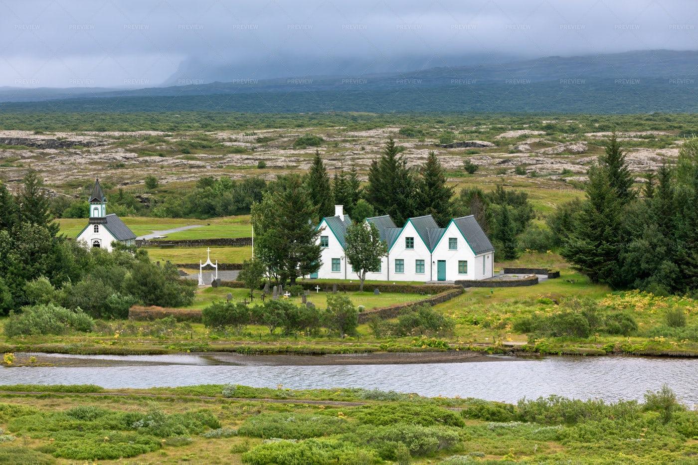 Icelandic Church: Stock Photos