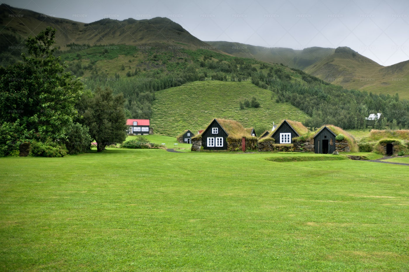 Countryside Of Iceland: Stock Photos
