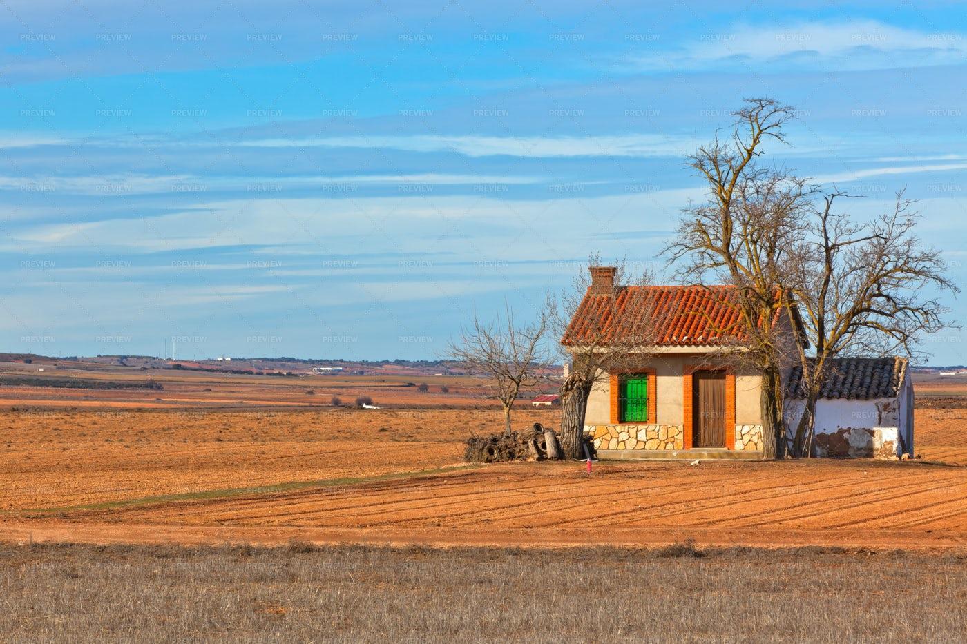 A Spanish Farmland: Stock Photos