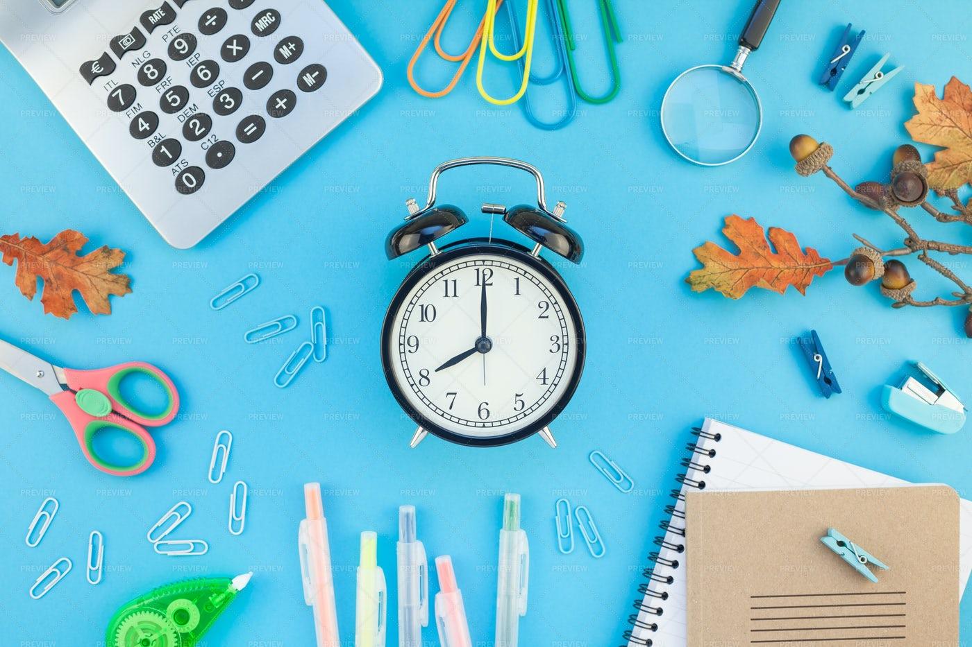 Items For School: Stock Photos