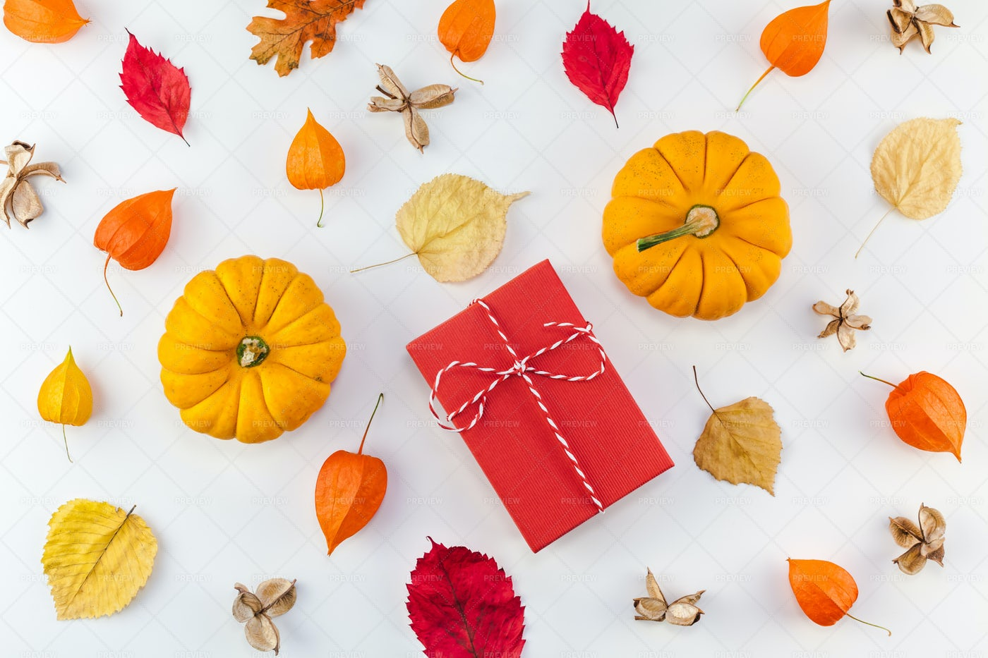 Fall Sale Pattern: Stock Photos