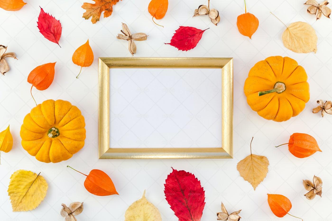 Autumn Frame: Stock Photos