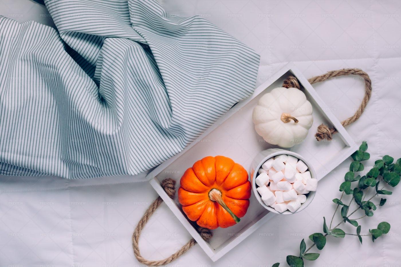 Sweet Autumn Morning Breakfast: Stock Photos