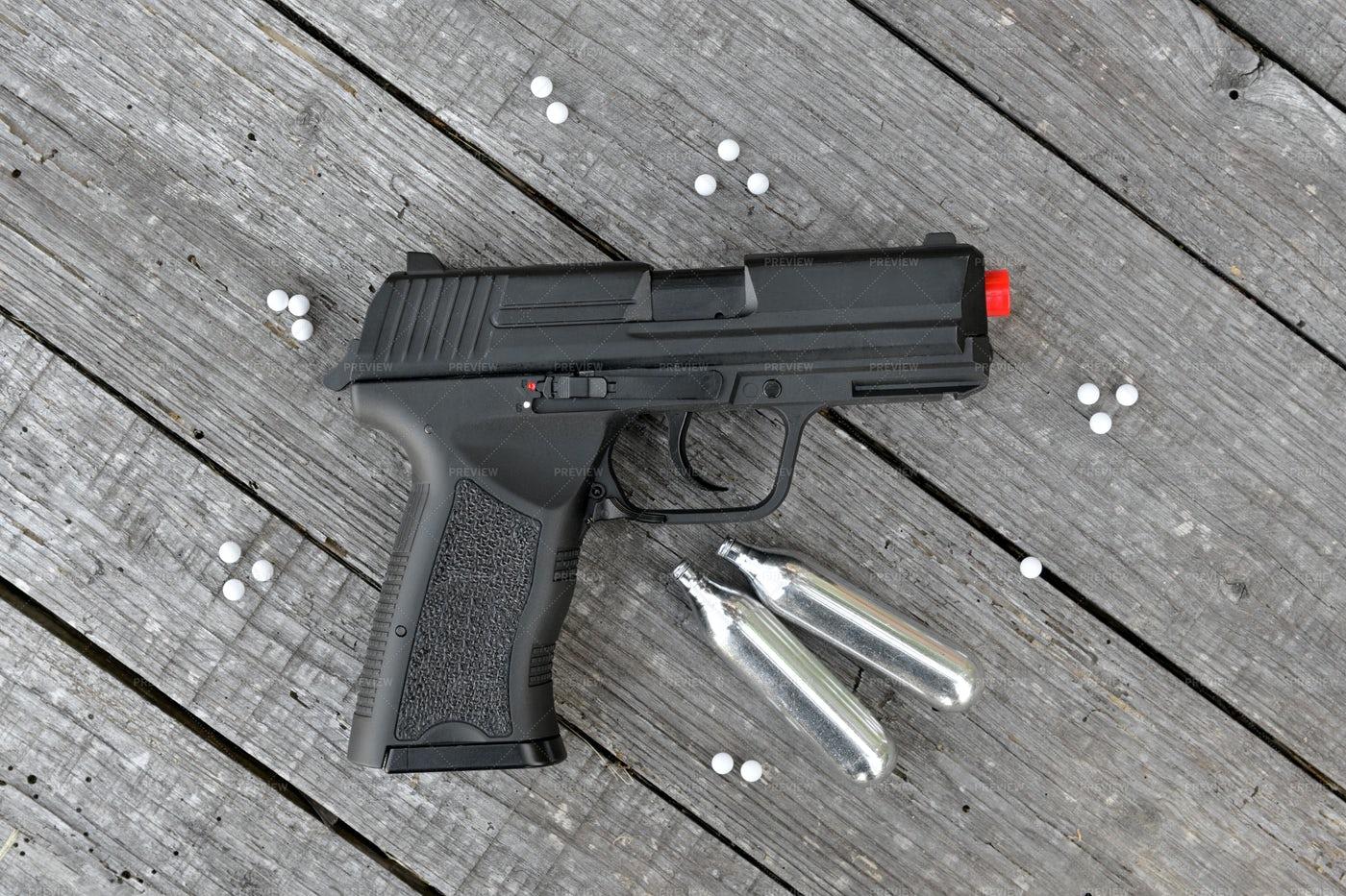 Air Soft Gun: Stock Photos
