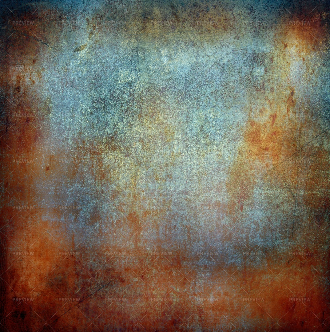Stained Metal Background: Stock Photos