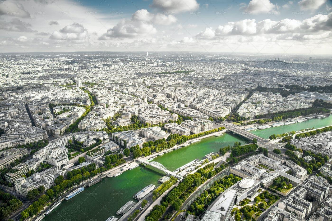 Paris View: Stock Photos