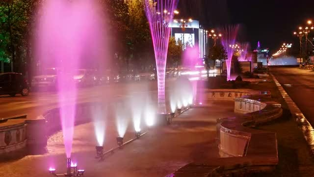 The Union Square In Bucharest : Stock Video