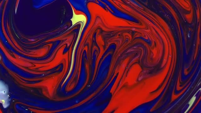 Abstract  Red Blue Sacral Swirl : Stock Video