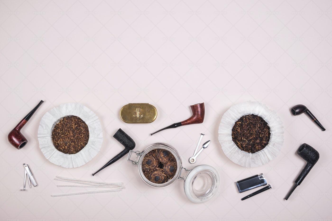 Smoking Pipes: Stock Photos