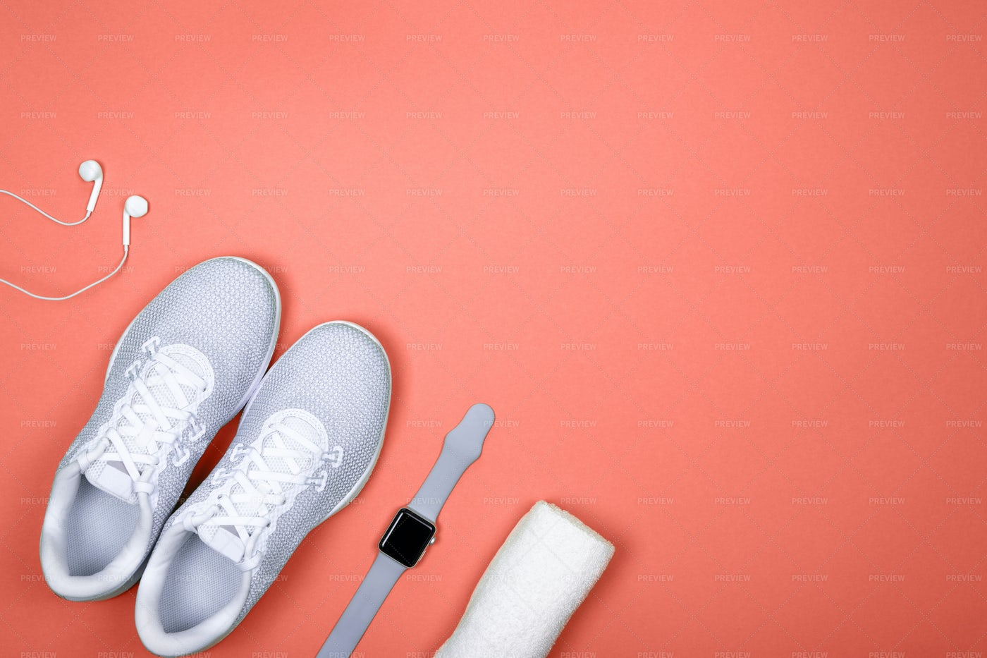 Shoes And Sport Accessories: Stock Photos