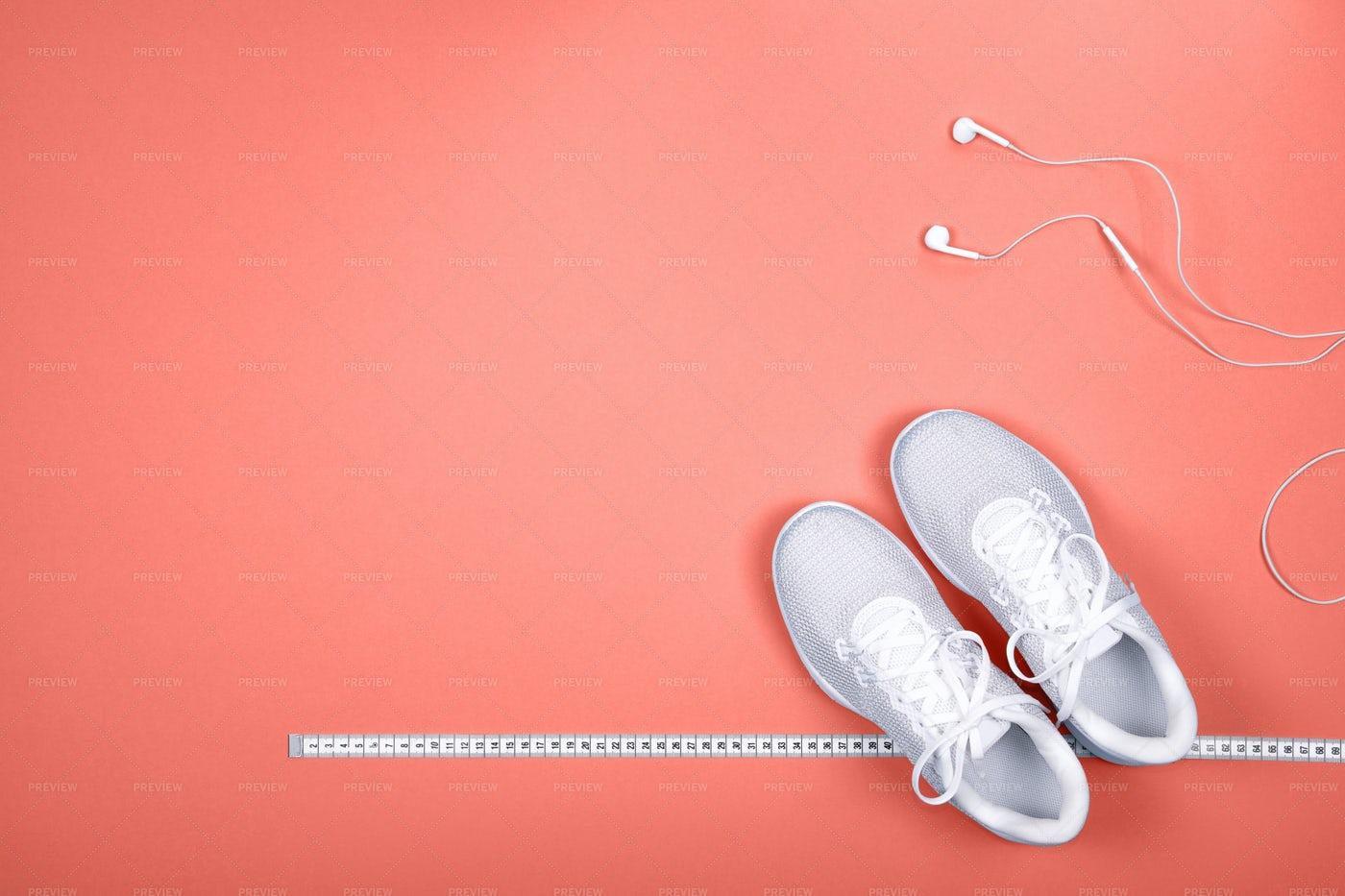 White Sneakers: Stock Photos