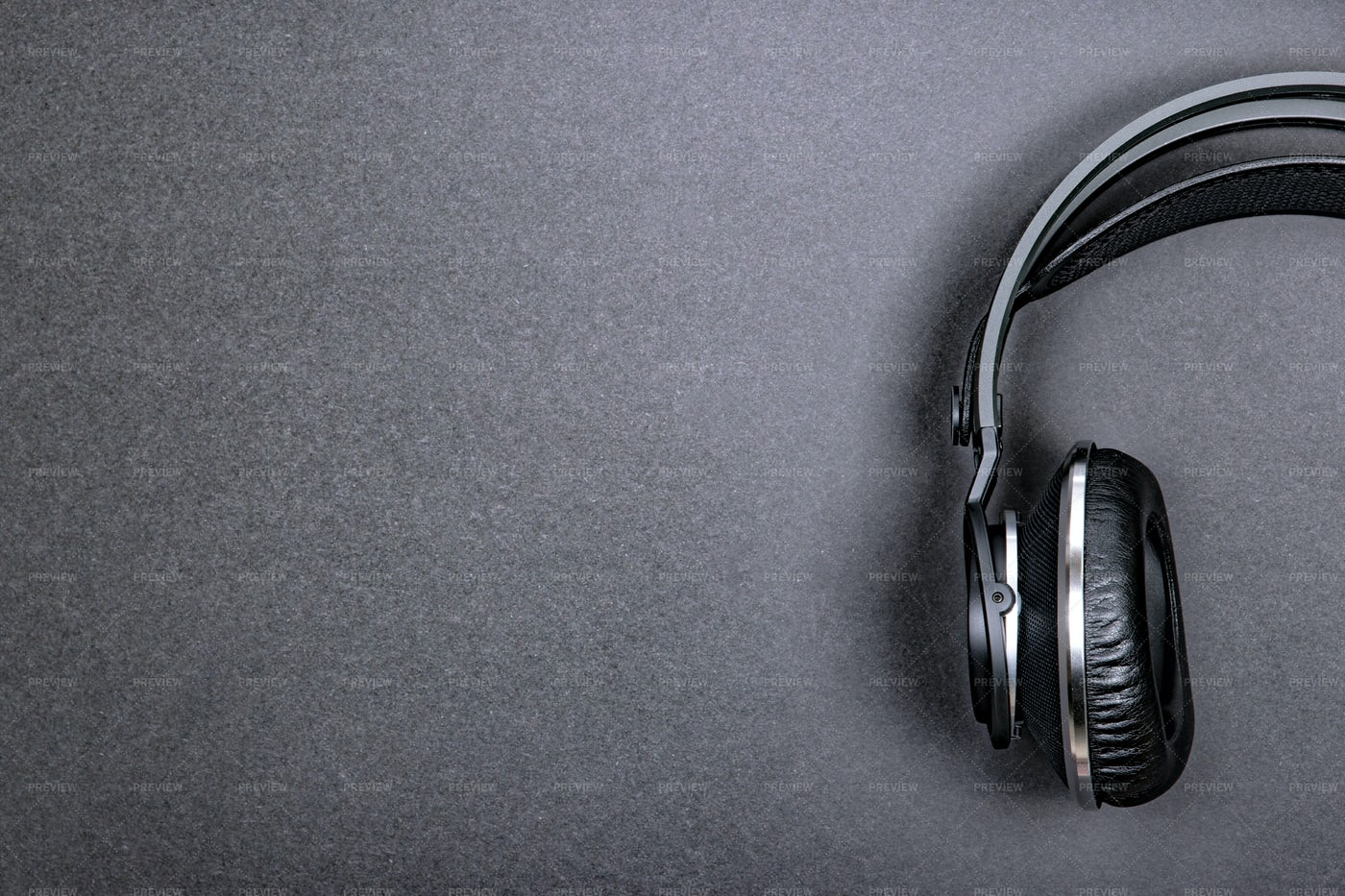 Professional Headphones: Stock Photos