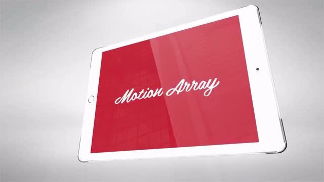 Logo On IPad 4K: After Effects Templates
