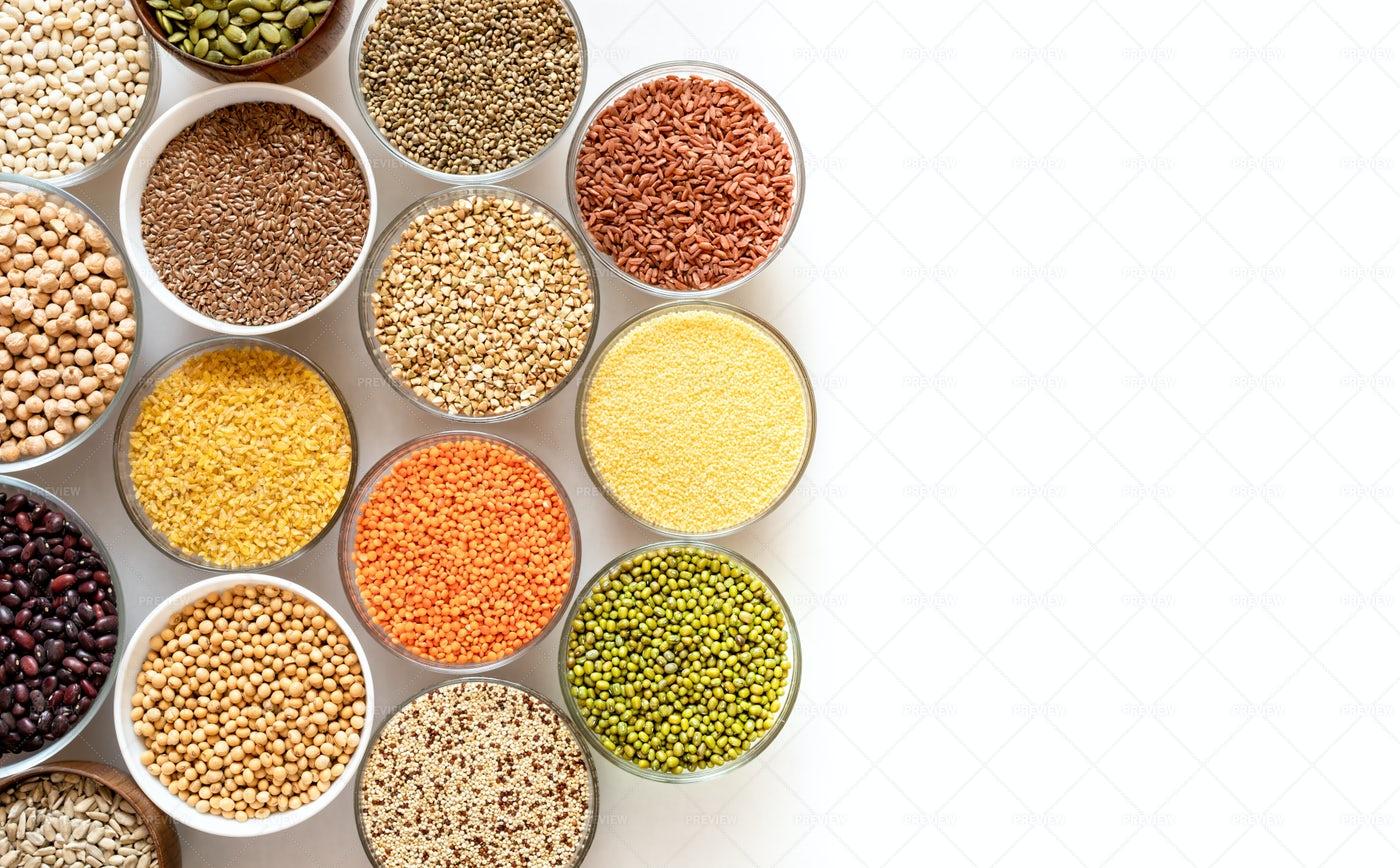 Healthy Seeds: Stock Photos