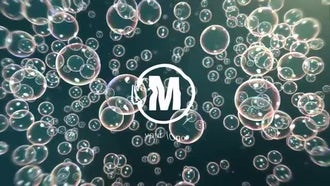 Bubbles Logo Reveal: After Effects Templates