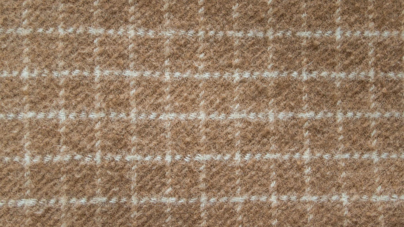 Brown Wool Square Texture: Stock Photos