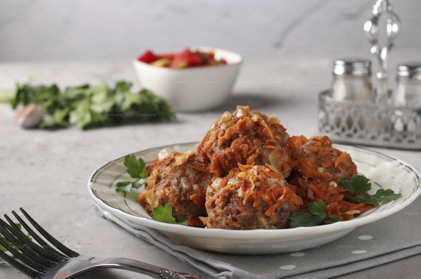 Meatballs: Stock Photos