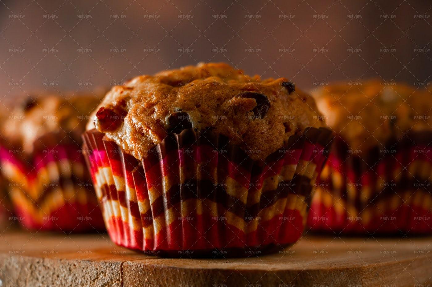 Homemade Cupcakes: Stock Photos