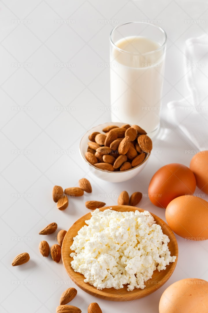 A Protein Assortment: Stock Photos
