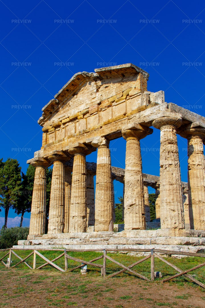 A Greek Temple: Stock Photos