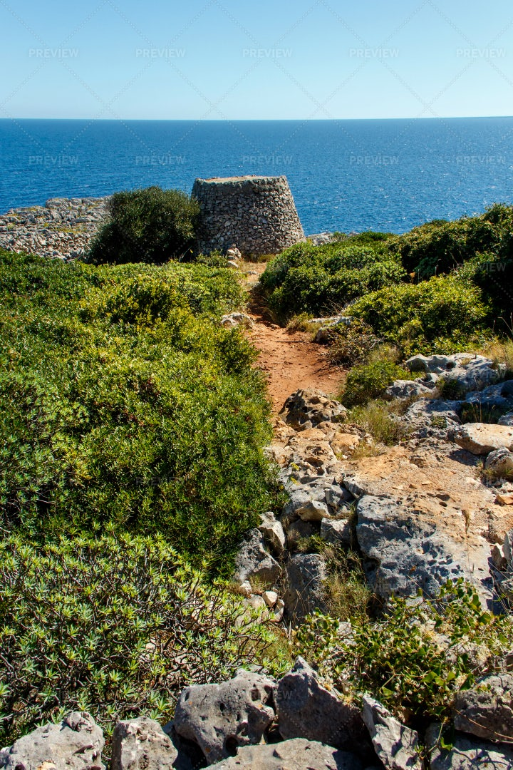 A Coastal Path: Stock Photos