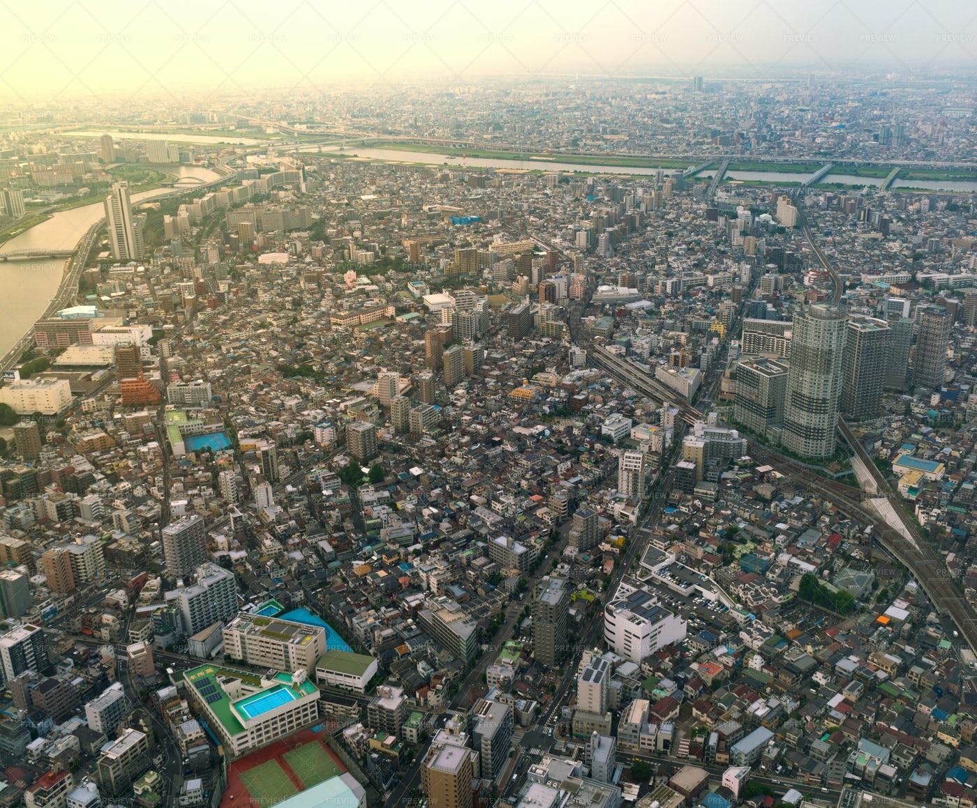 A Tokyo Cityscape: Stock Photos