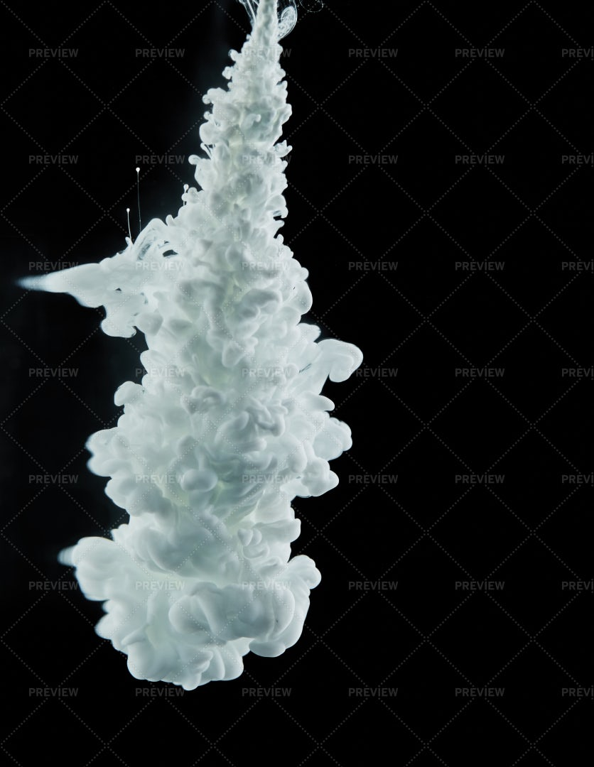 White Paint Pillar On Black: Stock Photos