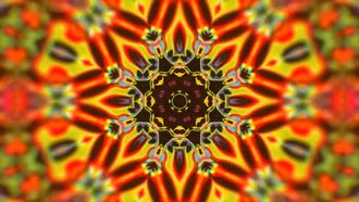 Psychedelic Kaleidoscope : Motion Graphics