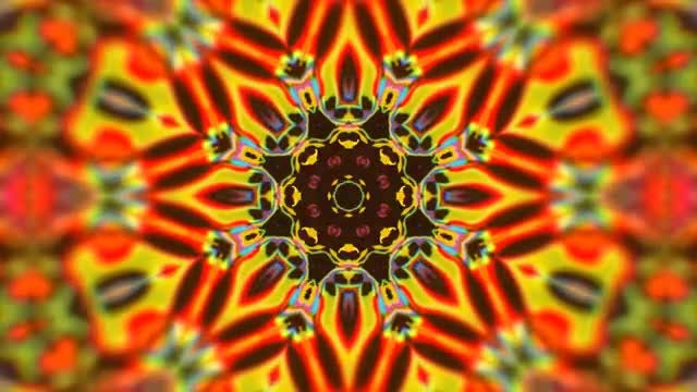 Psychedelic Kaleidoscope : Stock Motion Graphics