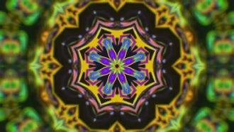 Tribal Kaleidoscope: Motion Graphics